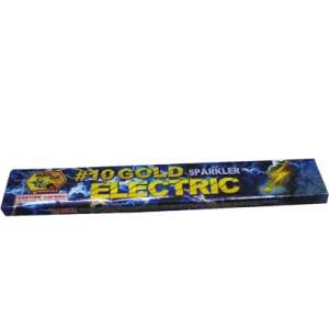 #10 Gold Electric Sparklers