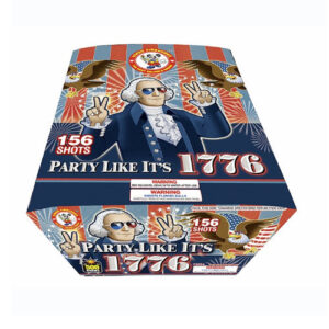 PARTY LIKE IT'S 1776 ZIPPER